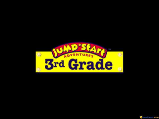 Jump Start Adventures 3rd Grade - title cover