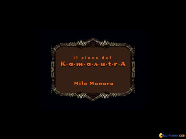 Kamasutra: Milo Manara - game cover