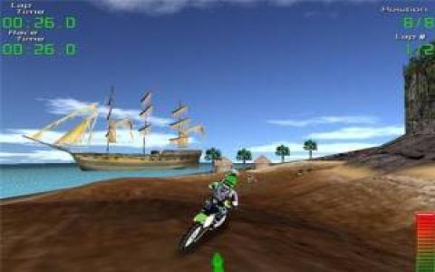 Kawasaki Fantasy Motocross - title cover