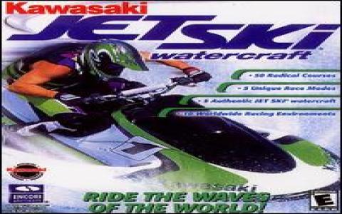 Kawasaki Jet Ski Watercraft - game cover