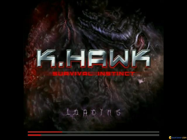 K. Hawk: Survival Instinct - game cover