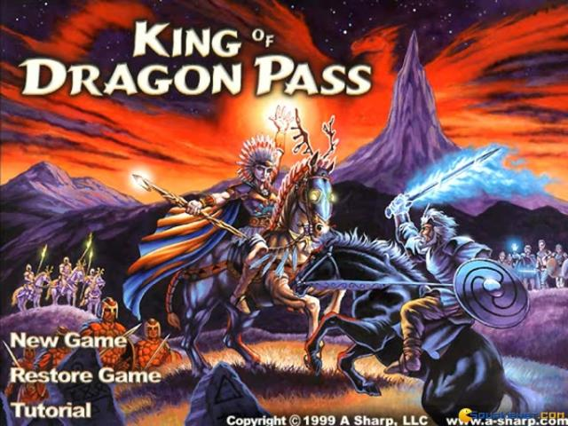 King of Dragon Pass - title cover