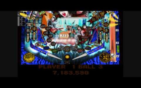 Kiss Pinball - title cover