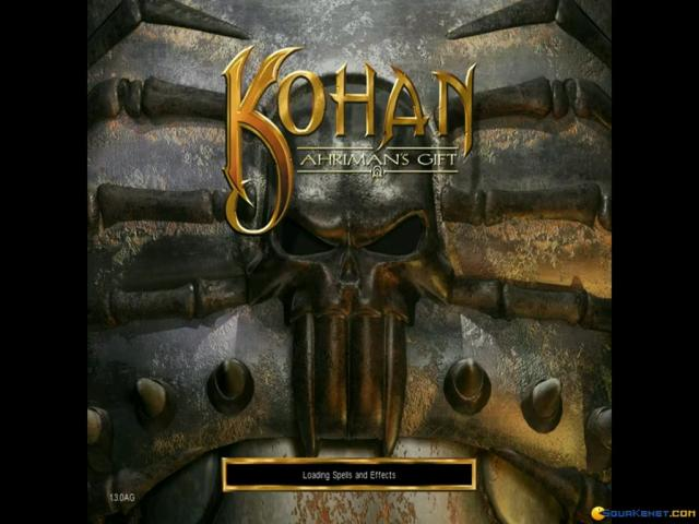 Kohan: Ahriman's Gift - title cover