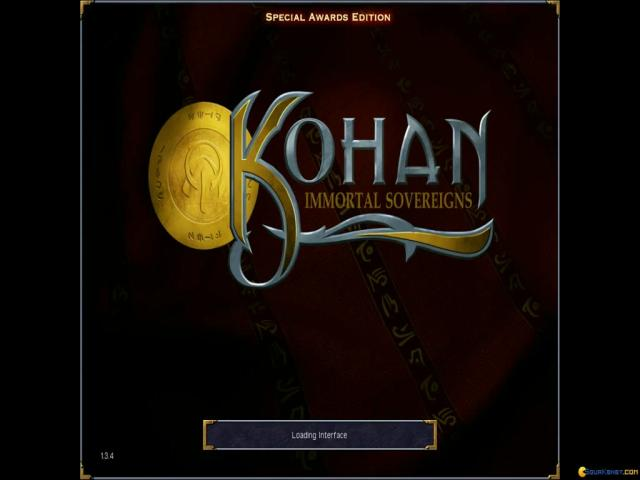 Kohan: Immortal Sovereigns - title cover