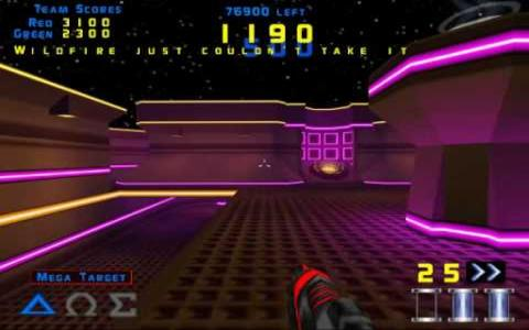 Laser Arena - title cover