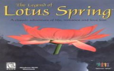 The Legend of Lotus Spring - title cover