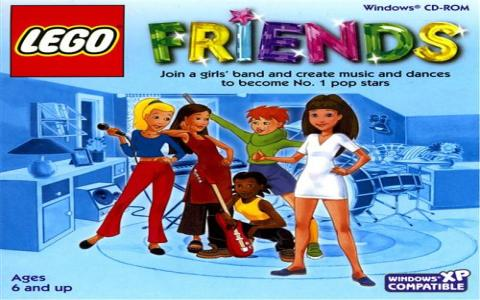 LEGO Friends - game cover