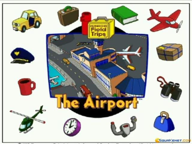 Let's Explore The Airport - title cover