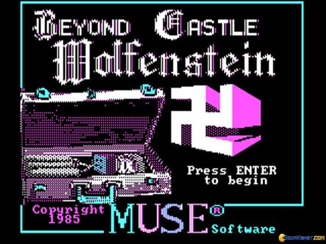 Beyond castle Wolfestein - game cover