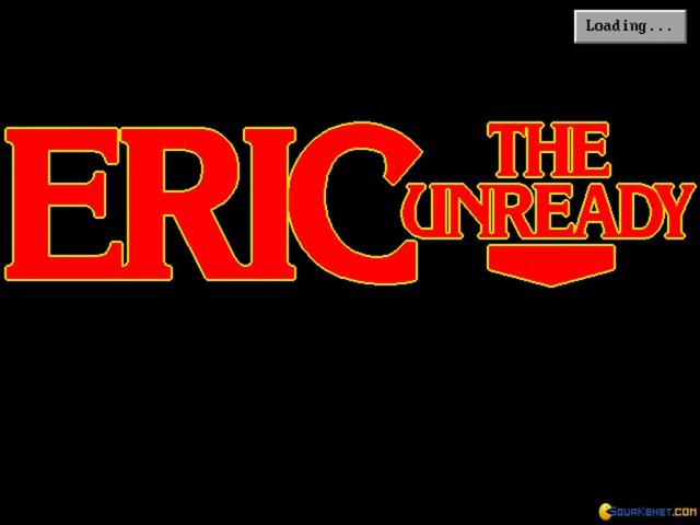 Eric the Unready - title cover
