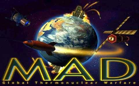 MAD: Global Thermonuclear War - game cover