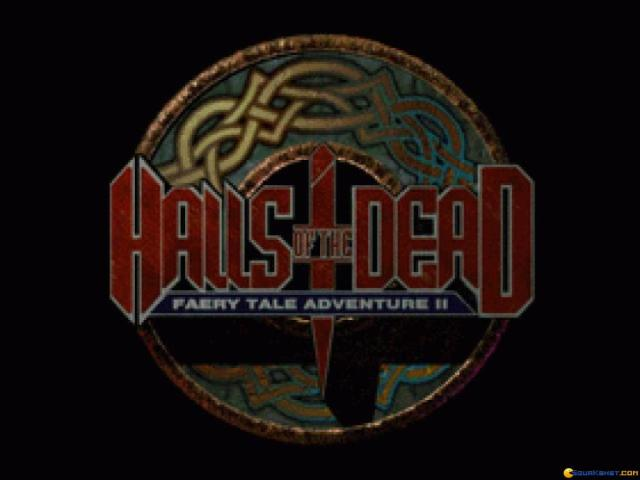 Faery Tale Adventure 2: Halls of the Dead - title cover
