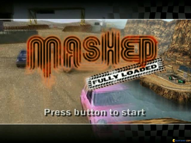 Mashed: Fully Loaded - game cover