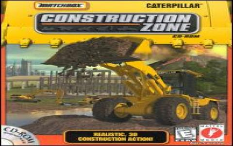 MatchBox Caterpillar Construction Zone - title cover