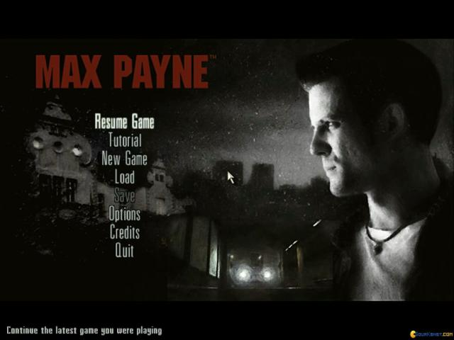 Max Payne - title cover
