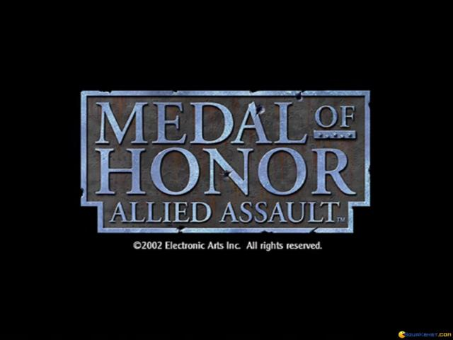 Medal of Honor: Allied Assault - title cover