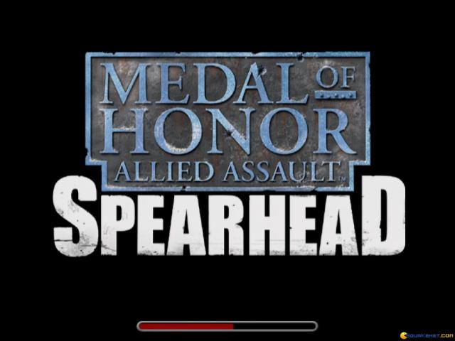 Medal of Honor: Allied Assault - Spearhead - title cover