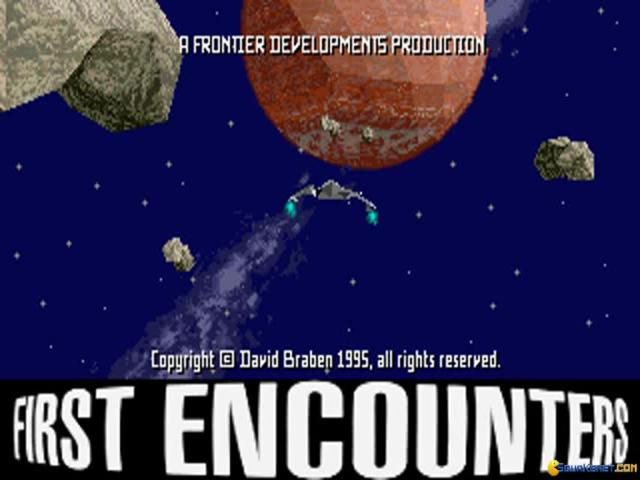 Frontier - First Encounters - game cover