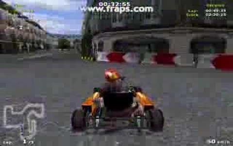 Michael Schumacher Racing World Kart 2002 - title cover