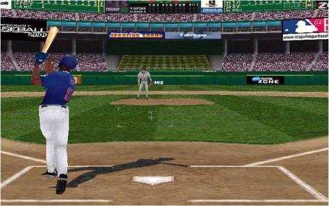 Microsoft Baseball 2001 - game cover