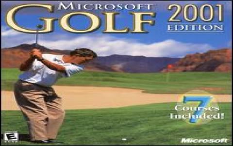 Microsoft Golf 2001 Edition - game cover