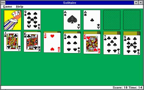 Microsoft Solitaire - game cover