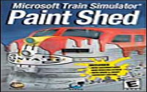 Microsoft Train Simulator: Paint Shed - game cover