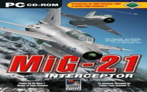 MiG-21 Interceptor - title cover