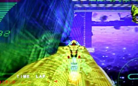 Millennium Racer: Y2K Fighters - title cover