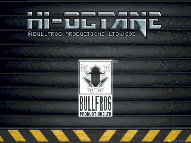 Hi Octane - game cover