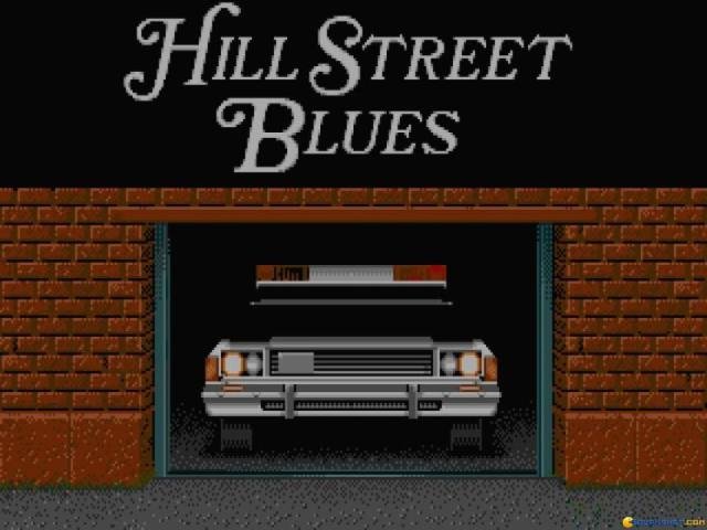 Hill Street Blues - game cover