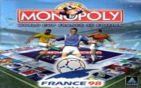 Monopoly World Cup France 98 Edition - game cover
