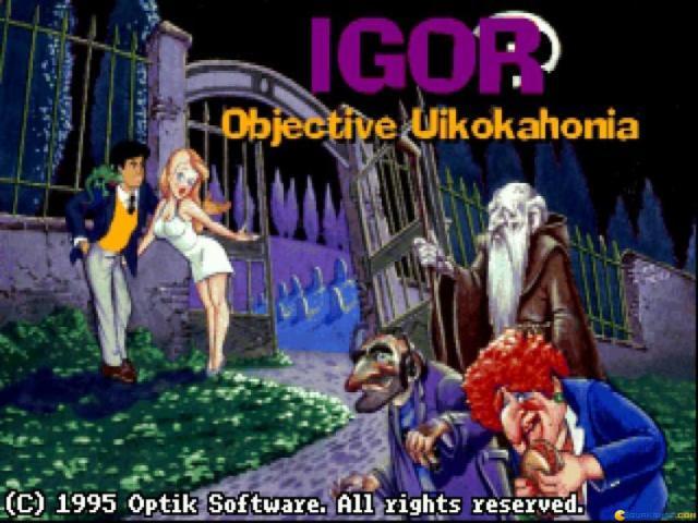 Igor - title cover