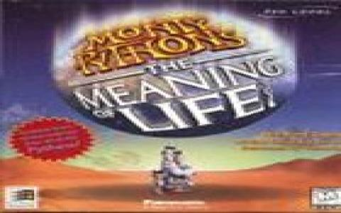 Monty Python's The Meaning of Life - title cover