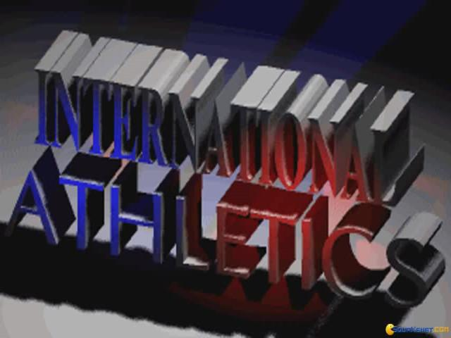 International Athletics - title cover