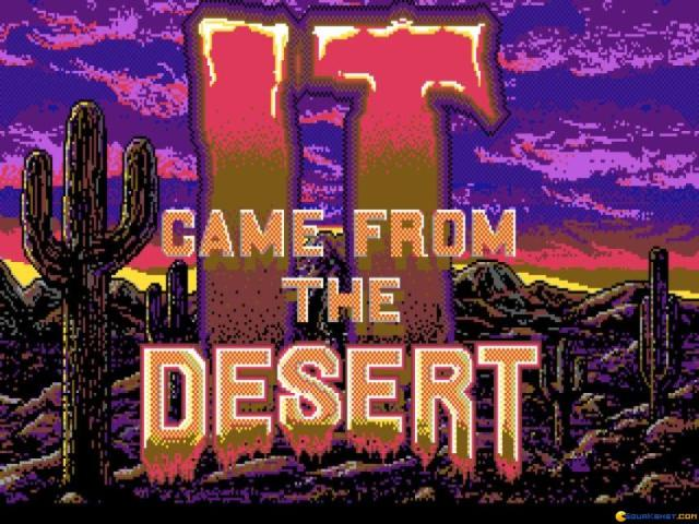 It Came from the Desert - title cover