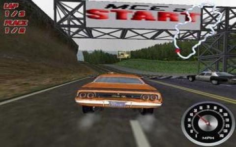 Muscle Car 2: American Spirit - game cover