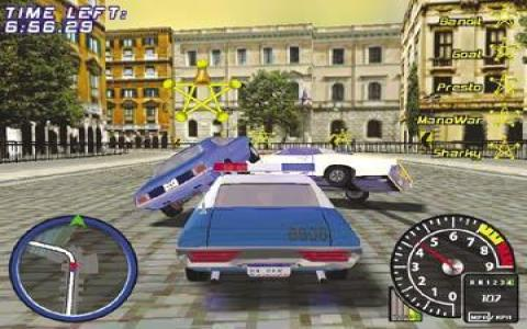 Muscle Car 3: Illegal Street - game cover