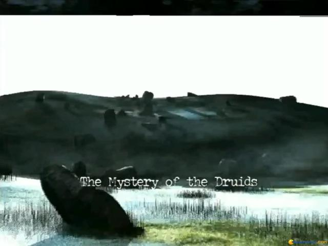 The Mystery of the Druids - title cover
