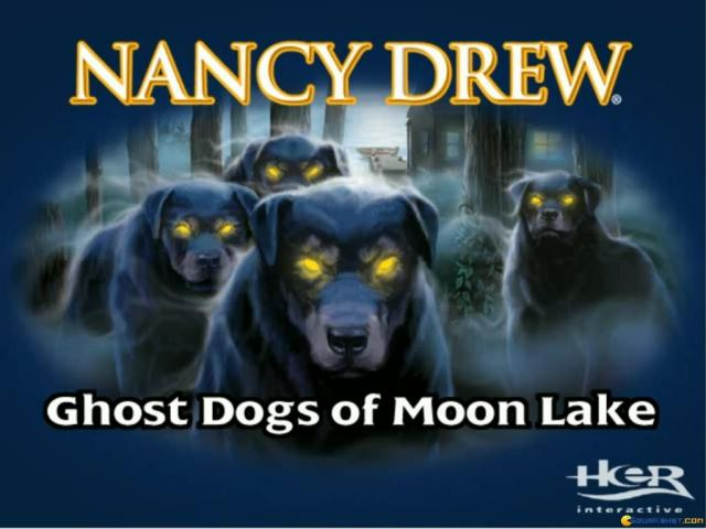Nancy Drew: Ghost Dogs of Moon Lake - title cover