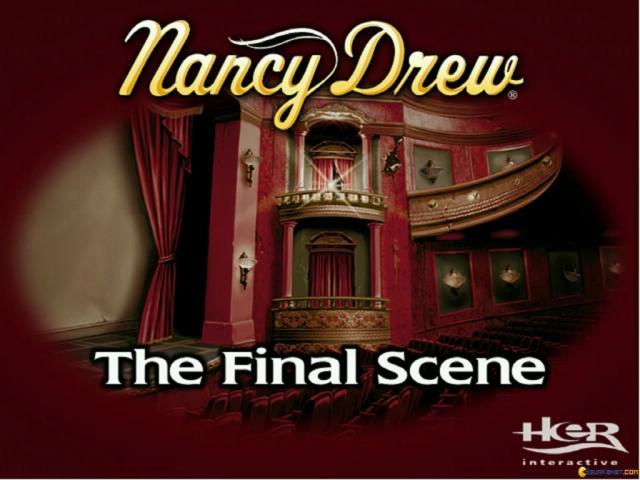 Nancy Drew: The Final Scene - game cover