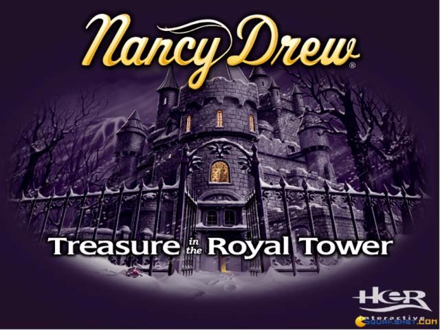 Nancy Drew: Treasure in the Royal Tower - title cover