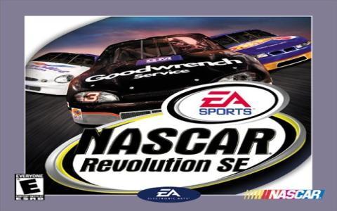 NASCAR Revolution SE - title cover