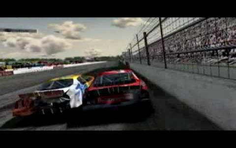 NASCAR Thunder 2004 - title cover