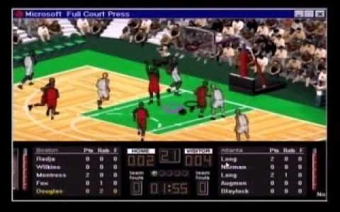 NBA Full Court Press - game cover