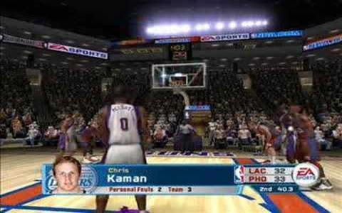 NBA Live 06 - title cover
