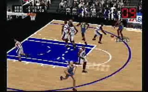 NBA Live 2000 - title cover