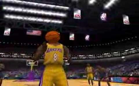 NBA Live 2001 - title cover