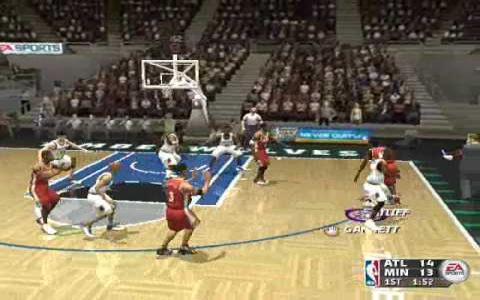 NBA Live 2004 - title cover